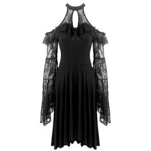 Dark In Love Jezebel Gothic Dress